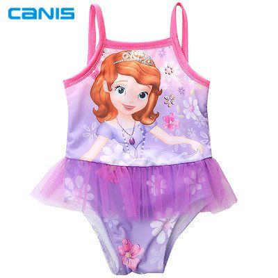New Kids Nuoto Beachwear Vestiti Delle Ragazze Cinghietti Costume Da Bagno Bathing Swimming Suit Swimwear 2-8Y