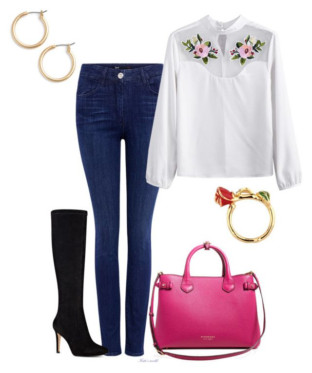 """""""dress2243"""" by k-meszaros on Polyvore featuring 3x1, Nine West, Burberry and Nordstrom"""