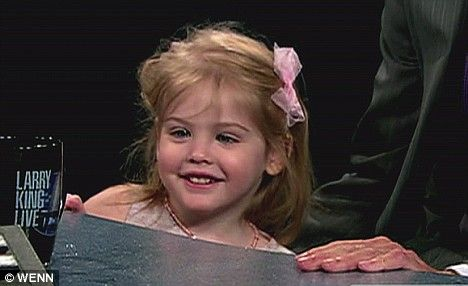 Anna Nicole Smith's and Larry Birkheads daughter~ Dannielynn