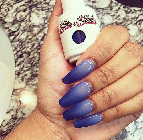 Ombre nails .. so pretty