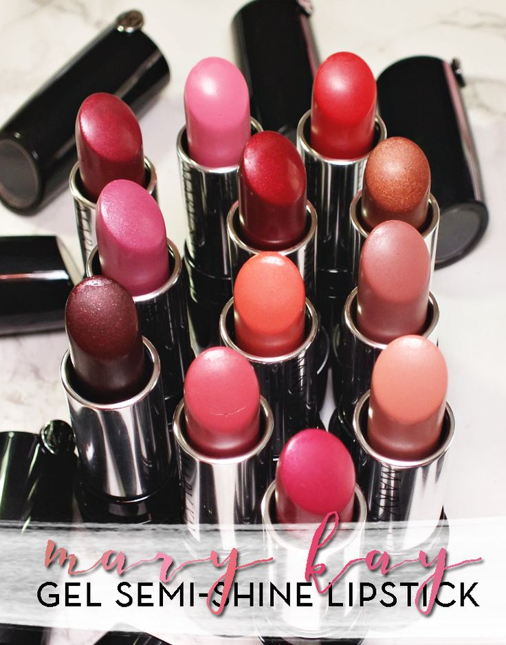 Mary Kay Gel Semi-Shine Lipstick | I Know all the Words