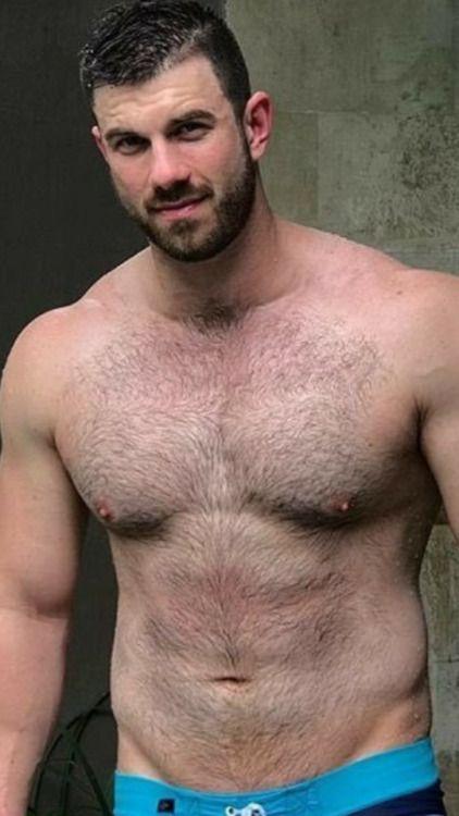 Hot bears shaving