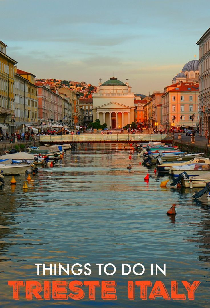 Trieste, Italy is the capital of the Friuli-Venezia Guilia Region. While Trieste has a firmly Italian identity, its proximity to Slovenia and Croatia gives it a unique characteristic that makes this lesser known Italian destination a wonderful place to explore. Click to find out more!