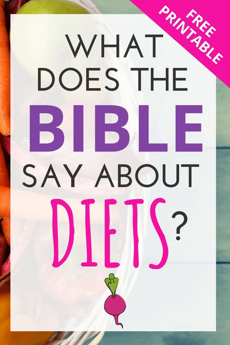 What Does The Bible Say About Diets How To Eat In A Way -1914