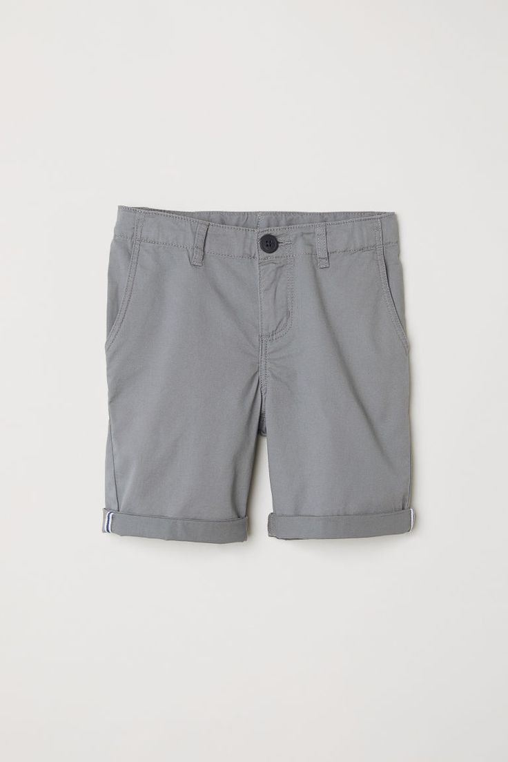 Chino shorts - Light grey - Kids | H&M GB 3