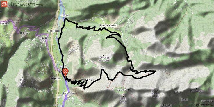[Pyrénées-Atlantiques] Tour des Seserites par Castet et le port d'Aste Départ de la falaise aux vautours à Aste Béon.  Prendre la direction du village de Castet et du Port de Castet.  Aller jusqu'au col de Jault par la cabane de l'Escala. (balisage rouge n°10)  Une traversée à par des chemins à vaches nous amène jusqu'à une clôture de barbelés, les franchir et descendre par ou on veut jusqu'à des abreuvoirs bien visibles.  Remonter un peu jusqu'au Coutchets et descendre la piste en passant…