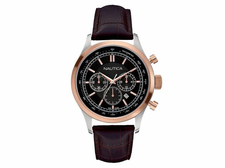 Reloj Nautica A19590G Café