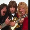 """Christopher Guest, Michael McKean and Harry Shearer in """"This Is Spinal Tap.""""  Exploding drummers, tiny Stonehenge, foil-wrapped zucchini, and Derek Smalls stuck in the pod...probably the funniest movie ever!"""
