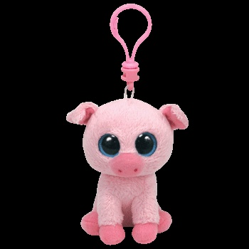 7d3176d3aa2 CORKY THE PIG TY BEANIE BOOS KEY CLIP CURRENT MINT New Buy any 4 get 1 Free