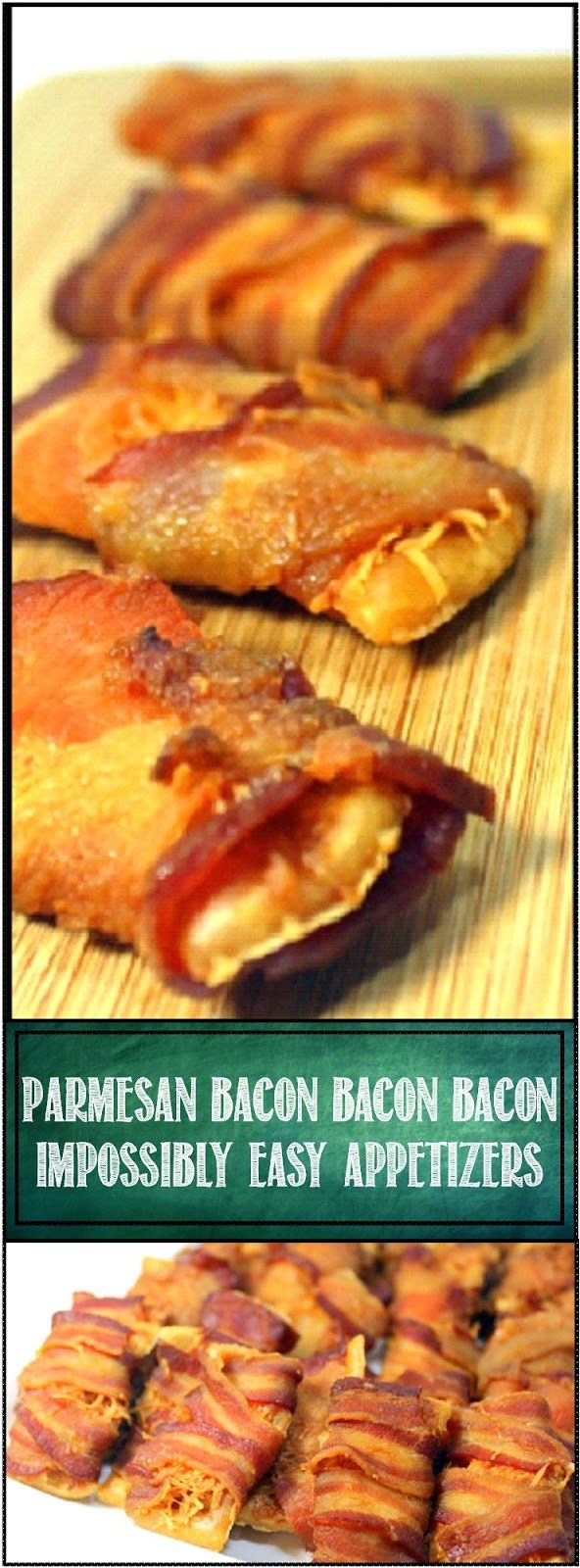 BACON BACON BACON Impossibly Easy Appetizers ONLY 3 INGREDIENTS and wildly…