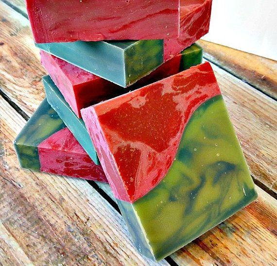 Komkommer meloen Soap - Homemade Soap - Shea boter Soap - natuurlijke zeep Bars - ambachtelijke zeep - zomer Soap - decoratieve zeep - unieke Gift
