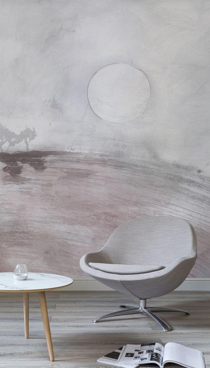 15 best wallpaper murals images on pinterest wallpaper murals soft pink landscape wall mural