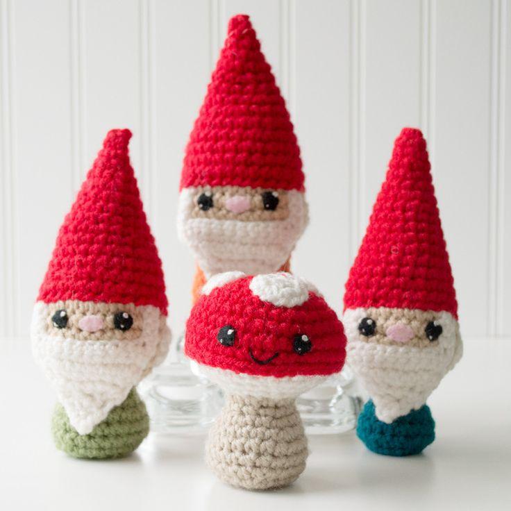 Amigurumi Mushroom Crochet Patterns : Meer dan 1000 idee?n over Crochet Mushroom op Pinterest ...