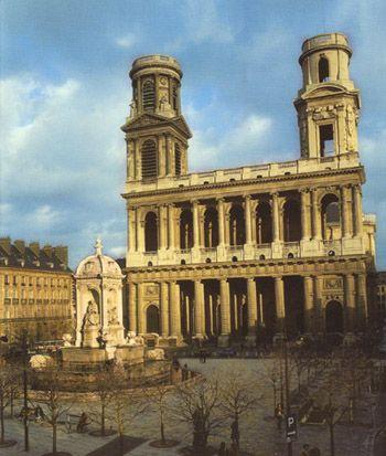 St Sulpice, Paris