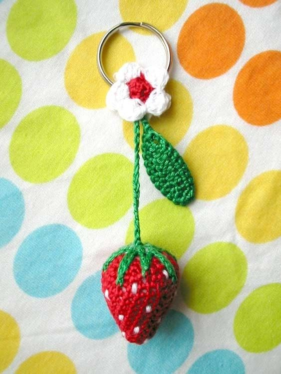 Inspiration STRAWBERRY KEYHOLDER. sold in 2008