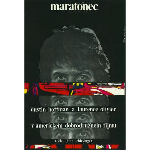 Marathon Man Czech movie film poster