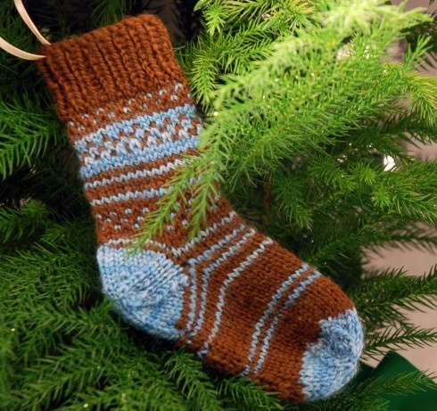 stocking ornament | watch out for the pointy end | Pinterest