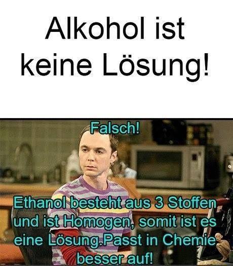 Alkohol ist doch eine Lösung! (Cool Pics Love)