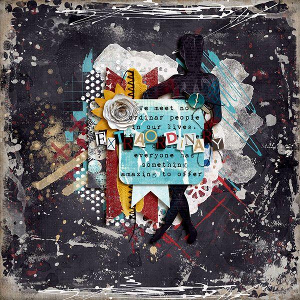 Anything but Ordinary - Oscraps Gallery | A GRAFFITI SCRAP
