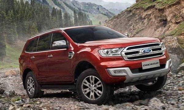 Ford Endeavour Front View Ford Endeavour Car Ford Ford Ranger