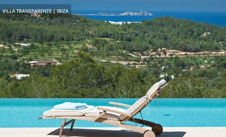VILLA TRANSPARENTE   IBIZA Mit spektakulärem Panoramablick über die Insel und das Meer