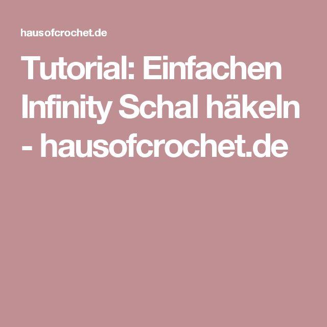 Tutorial: Einfachen Infinity Schal häkeln - hausofcrochet.de