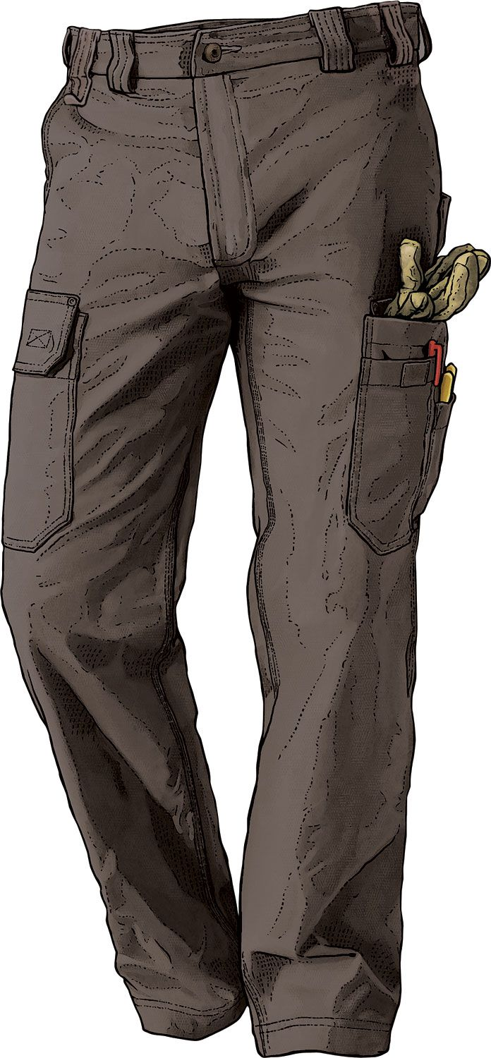 Duluth's exclusive DuluthFlex Fire Hose Pants have all the features of the original Fire Hose Pants but weigh about 1/3 less and offer 3x more flex.