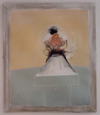 Marilyn Mann 1994  'The Osteopath'  Oil on canvas