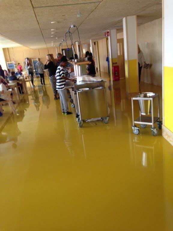 Färglatt i Ursviksskolan!