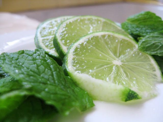 Simply Piee: Mojitos Can Also be made into Popsicles or Granita