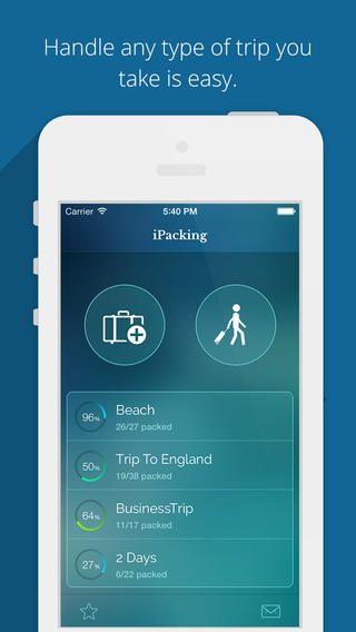 iPacking - Easy Trip Packing List Nexti co., ltd. 여행 가방 싸기