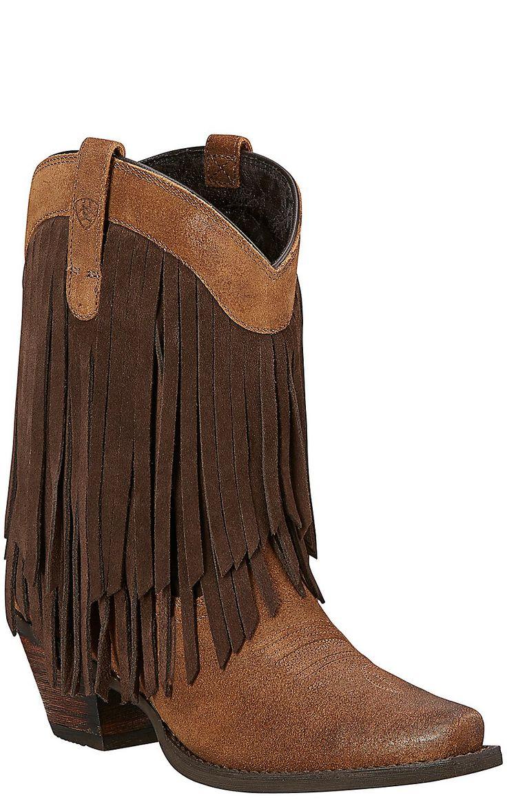 Women's Boots/ariat chestnut gold rush antique mocha zl3n63y8