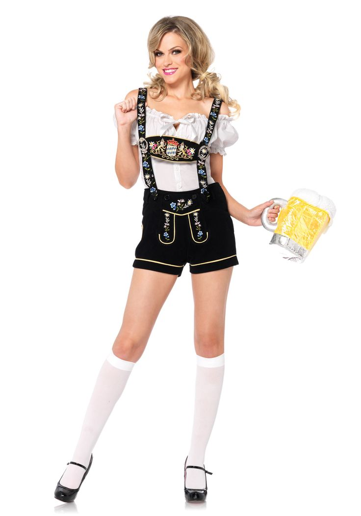 Leg Avenue Edelweiss Lederhosen Costume #German #Beer #Austrian #SoundOfMusic #Traditional