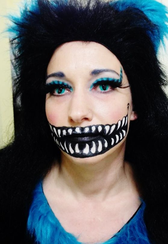 Basic Cat Face Paint Cheshire