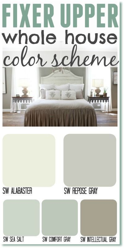 fixer upper paint colors color matches joannas new paint line has us all swooning - Green Paint Colors For Living Room