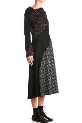 textures and prints bias panels dress - JUNYA WATANABE