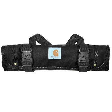 Carhartt Bags: Black 100822 01 Water Repellent Roll Up Tool Bag #CarharttClothing #DickiesWorkwear #WolverineBoots #TimberlandProBoots #WolverineSteelToeBoots #SteelToeShoes #WorkBoots #CarharttJackets #WranglerJeans #CarhartBibOveralls #CarharttPants