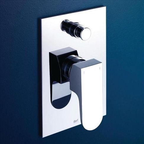 Arc Bath/Shower Mixer with Diverter, Bathroom Mixer Taps
