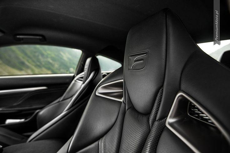 Lexus RC-F Carbon seats