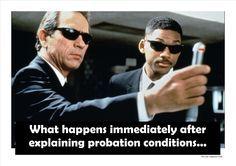 Probation Officer barriers