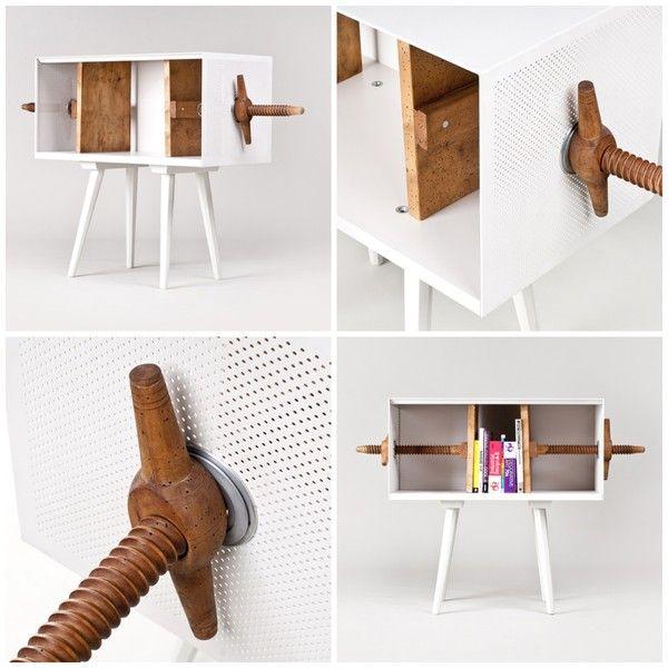 That is one bad ass piece of furniture! via emmas designblogg