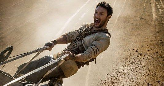 First 'Ben-Hur' Remake Photos Recreate Iconic Chariot Race -- Jack Huston is seen taking the reins during an epic chariot race in the first photos from Timur Bekmambetov's 'Ben-Hur' remake. -- http://movieweb.com/ben-hur-remake-photos-chariot-race-jack-huston/