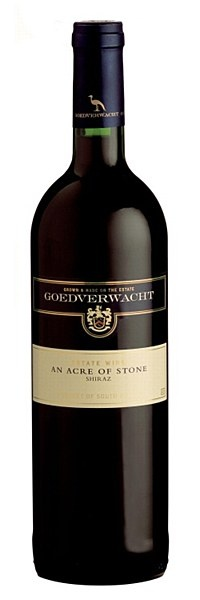 Goedverwacht Estate Acre of Stone Shiraz 2011 - Medium bodied and elegant, with ample red berry fruit, spice, violets, and smoke. Enjoy with venison or duck. The grapes for this wine were harvested at night time so as to retain as much primary fruit character as possible.