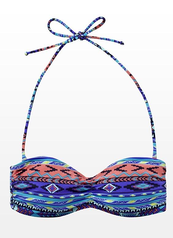 Aztec Bandeau Bikini Top - Garage   The design on this bikini is absolutely adorable @Oshawa Centre