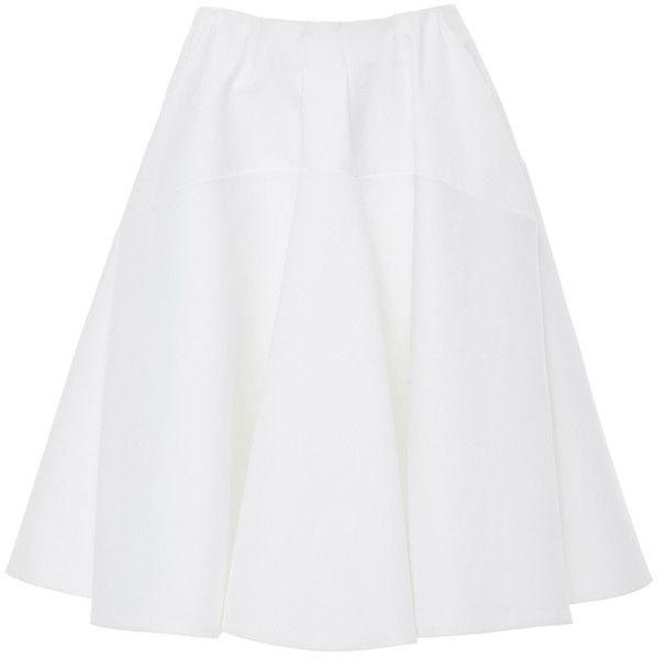 Best 25  White high waisted skirt ideas on Pinterest | Puffy skirt ...