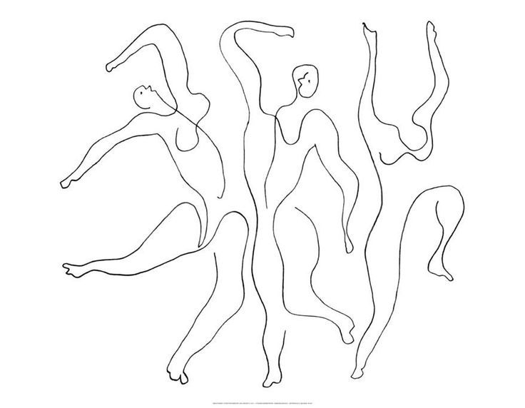 Image result for picasso continuous line drawing