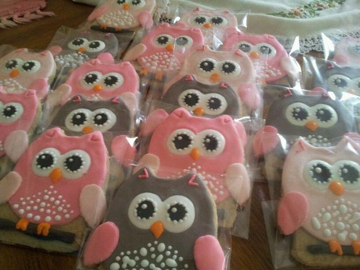Galletas de buhos Owls cookies