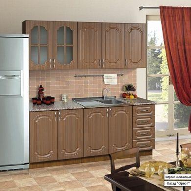 Кухня Ореол 2,0 м купить в Екатеринбурге | Мебелька