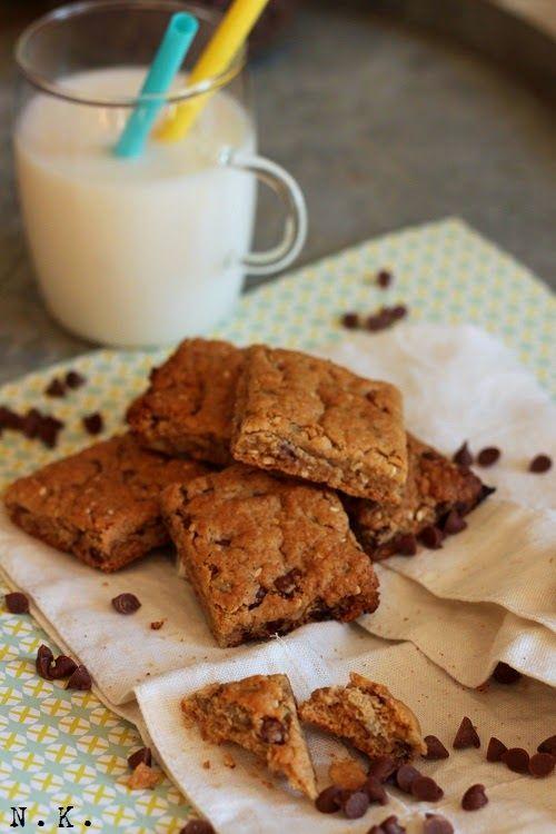 La Cuisine du Corti: Biscuits au chocolat au lait, graines de sésame et de tournesol
