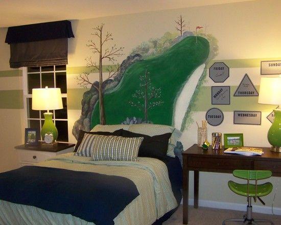 12 best Tyler- golf bedroom ideas images on Pinterest | Golf room ...